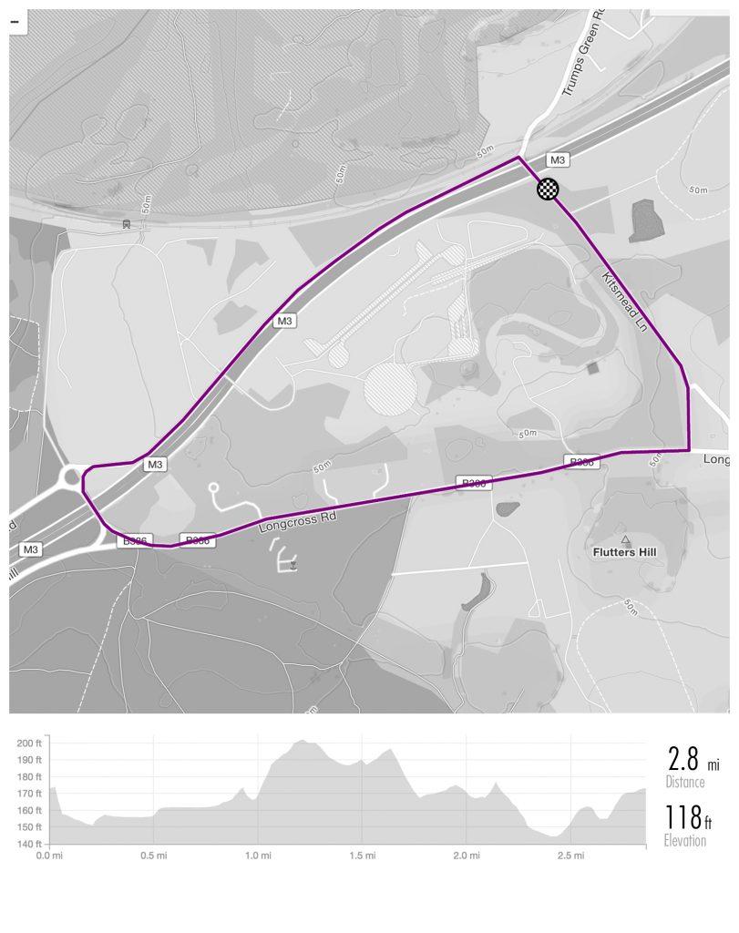 Surrey_League_Maps_KitsmeadLane - KT160E_KT16 0HG