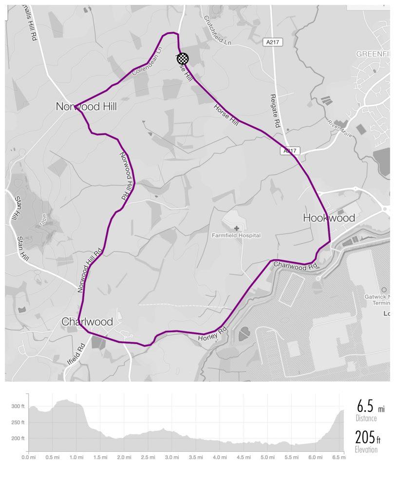Surrey_League_Maps_Charlwood - RH2 8PT